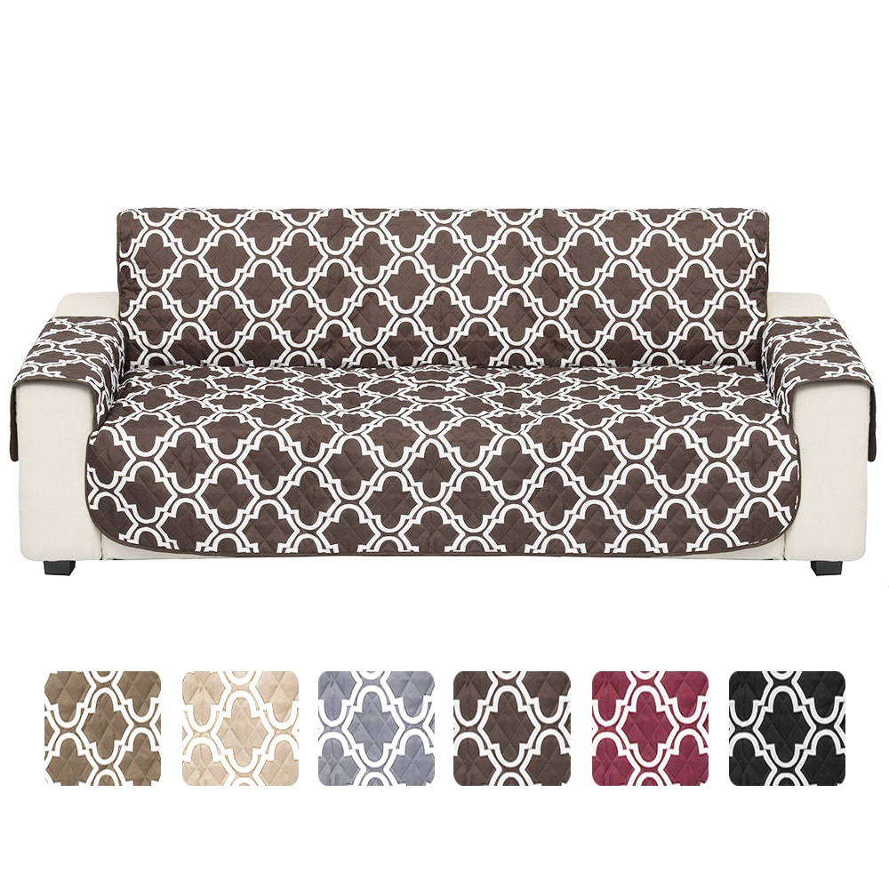Wondrous Details About Waterproof Quilted Sofa Cover Slipcover Pet Kids Dog Couch Protector Mat W Strap Machost Co Dining Chair Design Ideas Machostcouk
