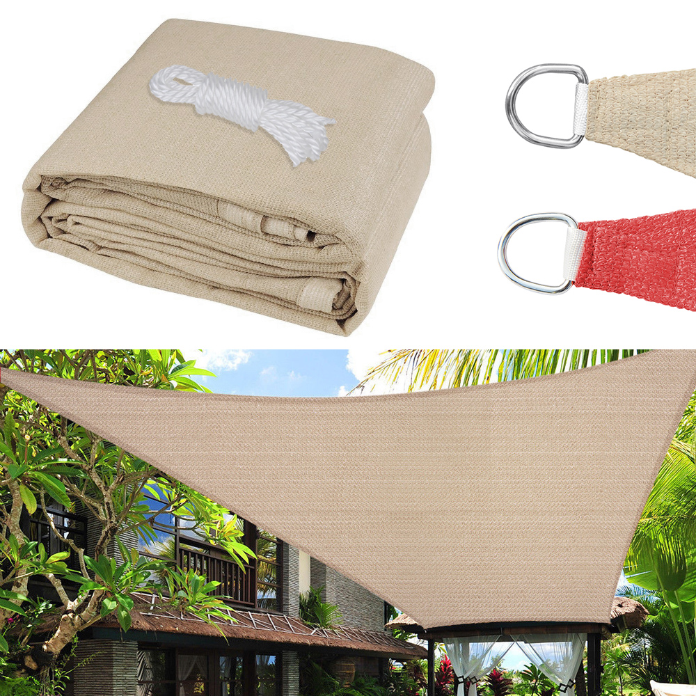 Sun Shade Sail Canopy Outdoor Patio Pool Lawn Rectangle