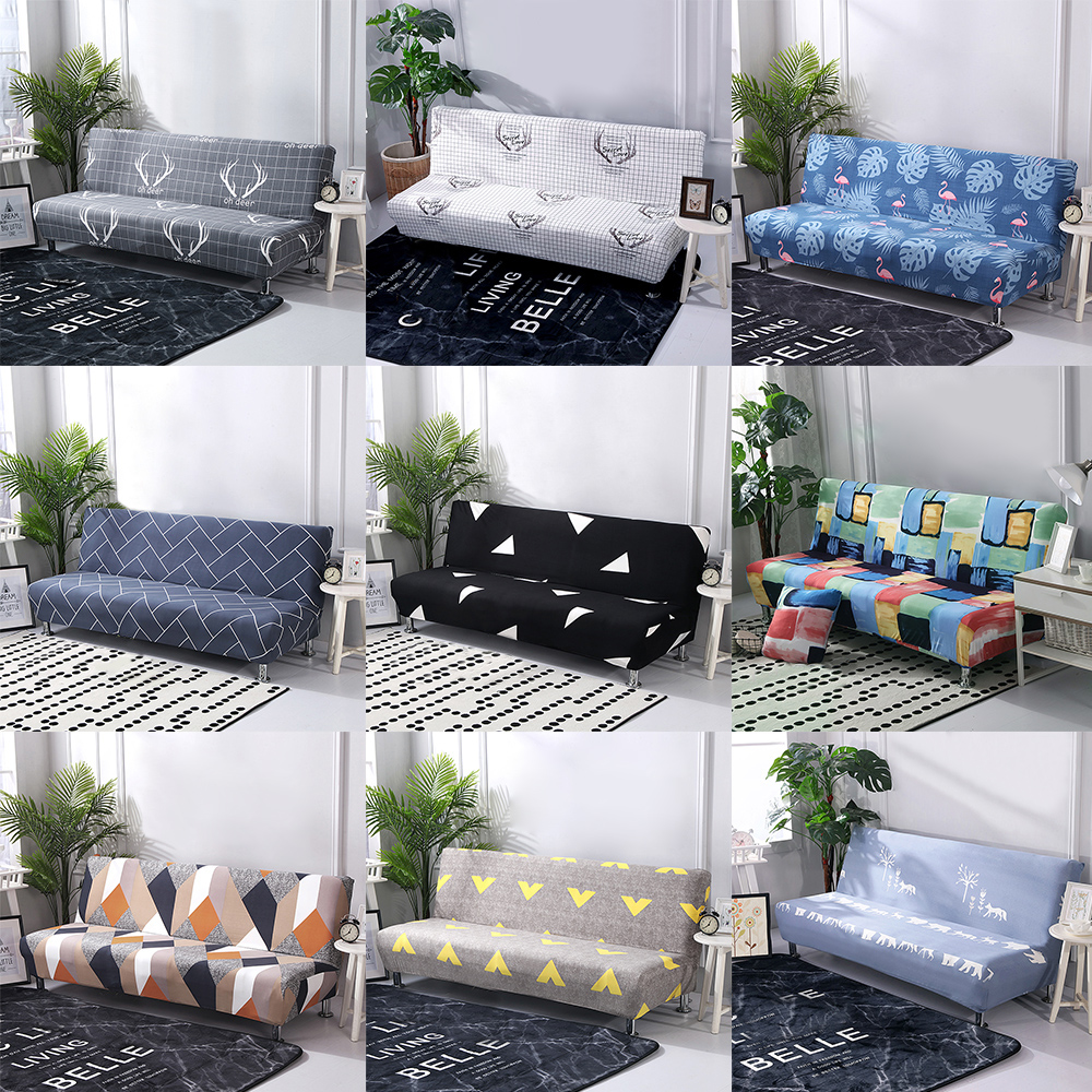 Tremendous Details About Folding Armless Sofa Bed Cover Stretch Chair Couch Futon Slipcovers Protector Spiritservingveterans Wood Chair Design Ideas Spiritservingveteransorg