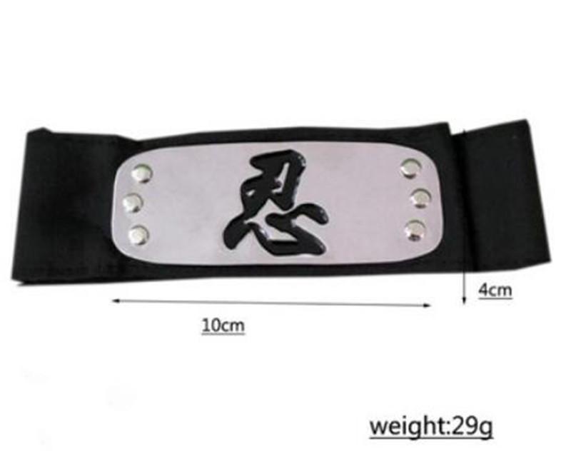 15pcs Naruto Uchiha Itachi Kakashi Sasuke Leaf Village Konoha Ninja Headband