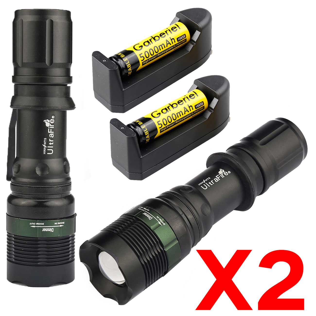 Military 6 Modes 900000LM Tactical Rechargeable Headlamp 18650 High Power Torch