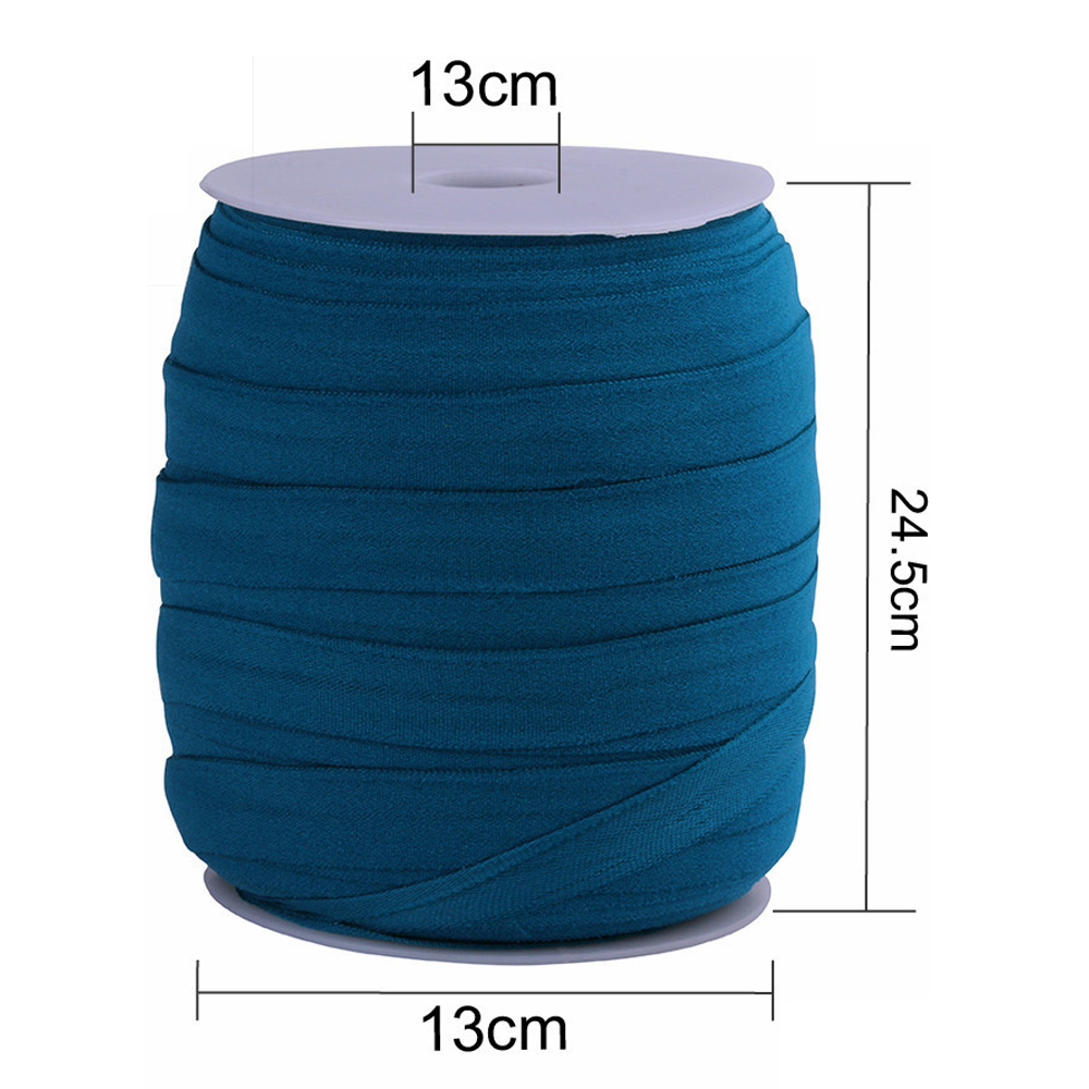 100meters 15mm Fold Over Elastic Binding Sewing Crafts DIY