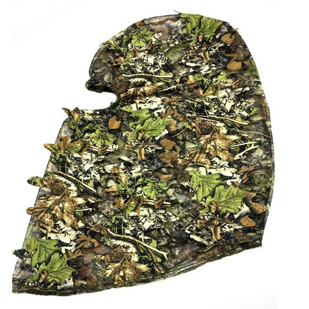 3D Sneaky Camouflage Leaf Gloves Woodland Jungle Stealth Ghillie Glove Hunting