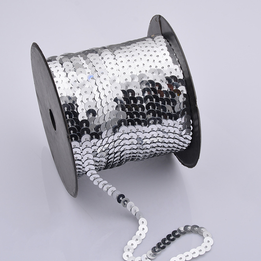 90m/Roll Sequin String Clothes Shoes Décor DIY Crafts Jewelry ...