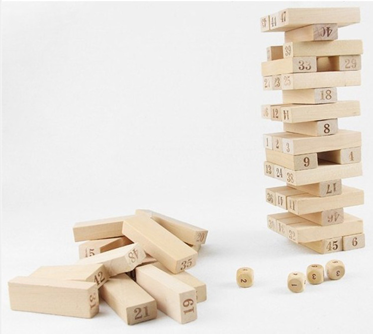 Details About 40 Wood Pieces Toy Wiss Toy Game Wooden Block Casual Wooden Toy Building Blocks Beauteous Games With Wooden Blocks
