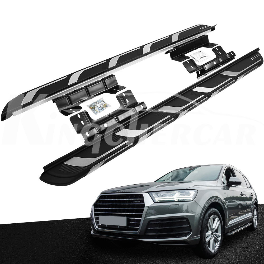Running Board Fits For Audi Q7 2016 2017 2018 New Side