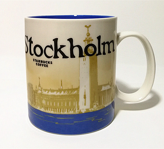 16 oz Starbucks Mug Cup Colombia City Collector Series Mug