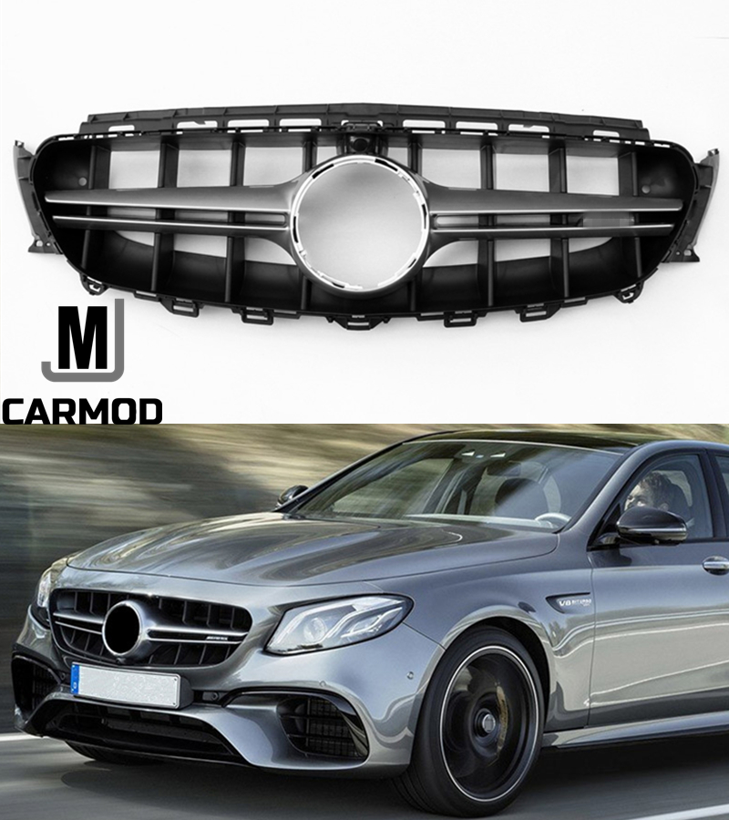 amg style front grill grille fit for mercedes benz w213. Black Bedroom Furniture Sets. Home Design Ideas