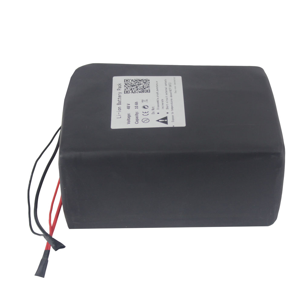 48V10Ah Lithium ion Battery Pack for Electric Scooter 250W 500W Motor 3A Charger