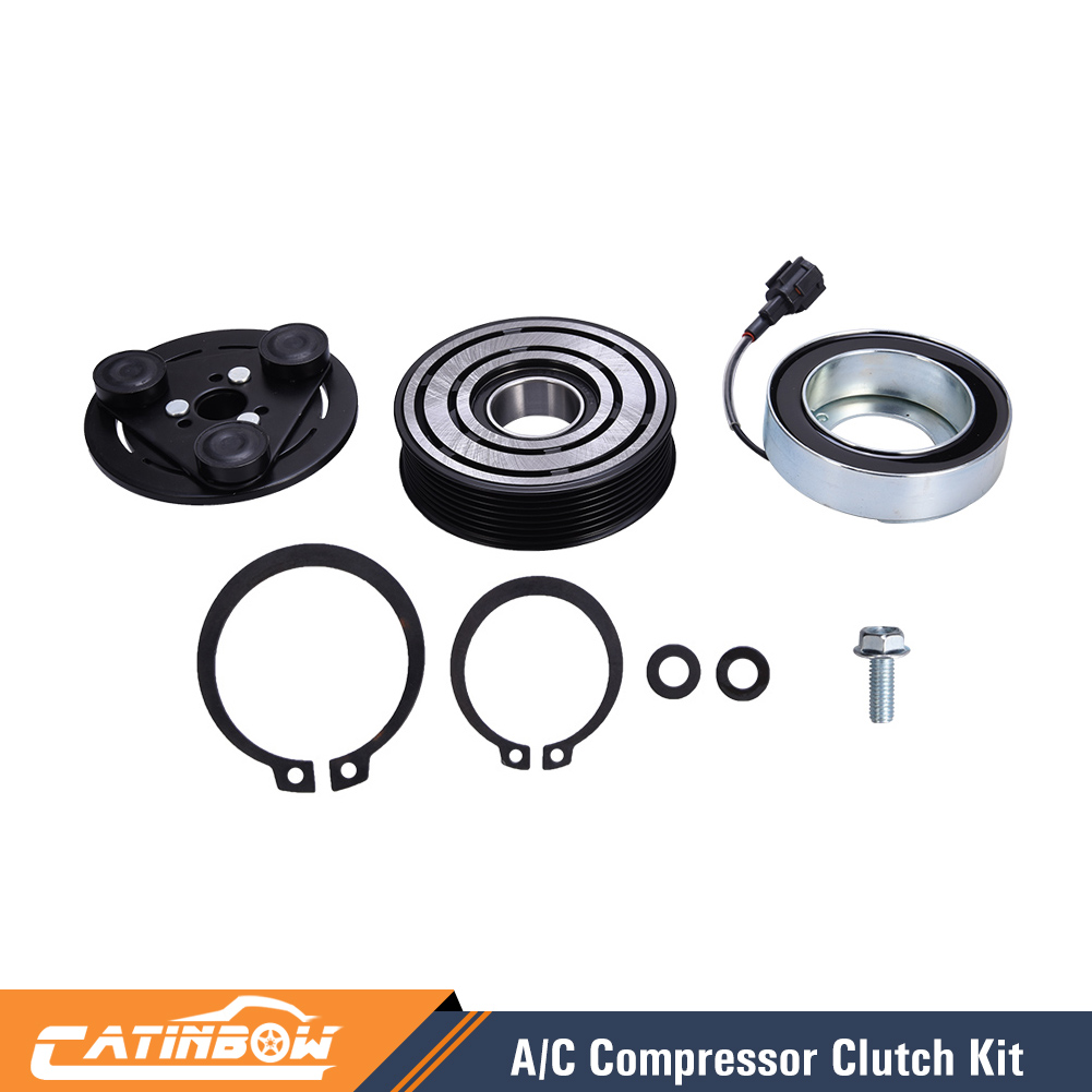 Auto Parts & Accessories Car & Truck Parts A/C Compressor Clutch Kit Pulley Bearing Coil Plate Fits Nissan Versa 07-11 1.8L