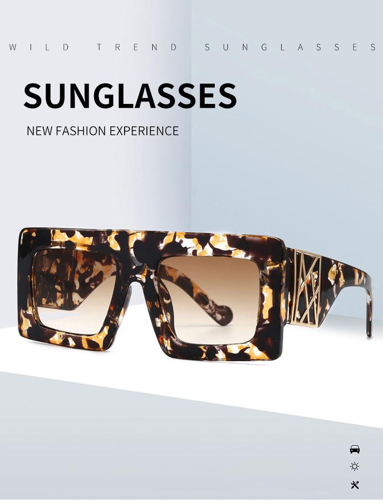 Trend 2020 Oversized Square Sunglasses Women Outdoor Glasses Men Shades Eyewear Ebay