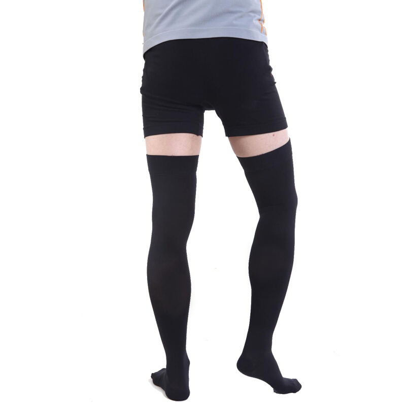 3e83c9e17f8c7 Details about 2019 Women & Men Thigh High Compression Stockings Support Varicose  Veins Socks