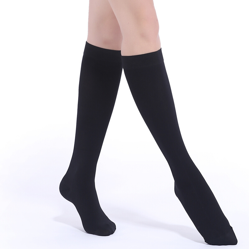 c36502c63f Details about Women Men Medical Leg Relief Pain Compression Socks Knee High  Stockings Grade II