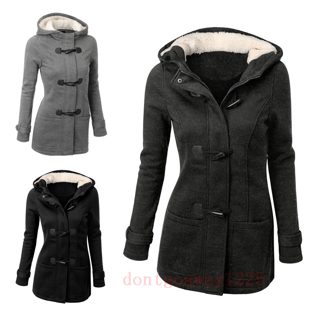 frauen damen hoodie winterjacke warm m ntel bergang. Black Bedroom Furniture Sets. Home Design Ideas