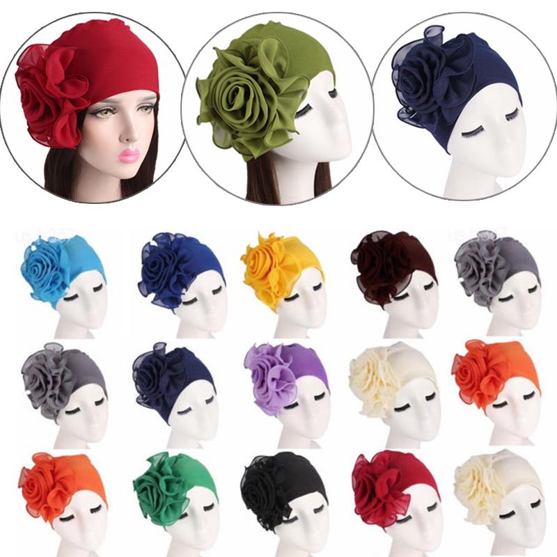 mütze wickel kopftuch hijab chemo hut muslimische turban verstimmen stretch