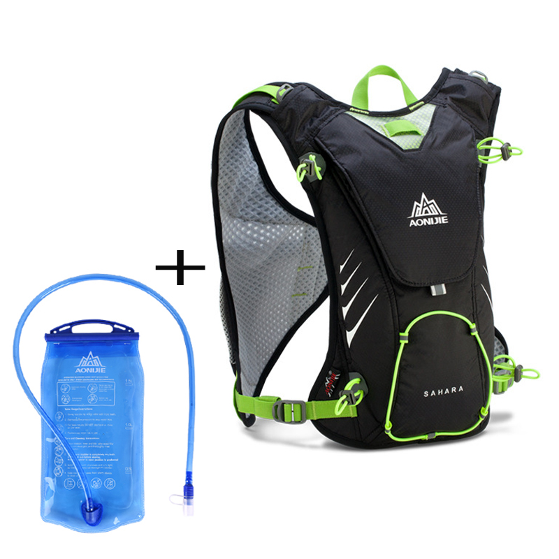 AONIJIE Outdoor Ultralight Backpack Hiking Bag With 1.5L Hydration ...