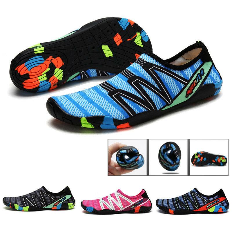 Mens Wet Aqua Shoes Mesh Wetsuit Swim Breathable Quick Dry Surfing Beach Hiking