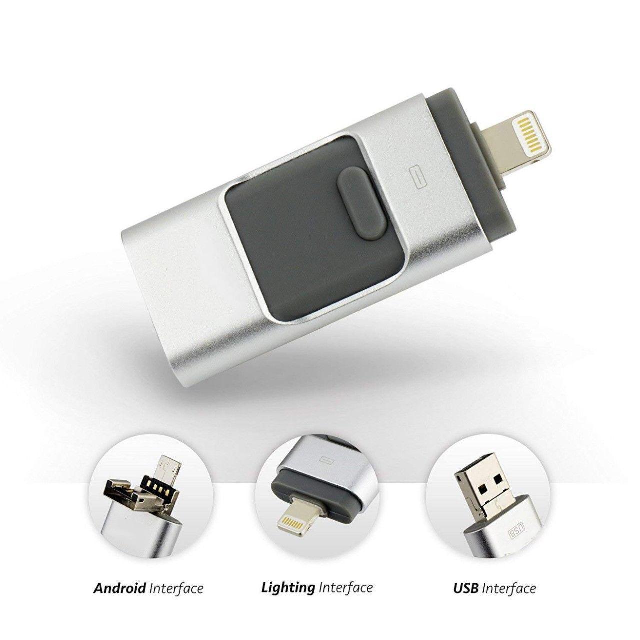 OTG USB Flash Drive Disk For IPhone/iPad External Storage