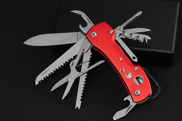 Swiss Army Pocket Knife Folding Multi Tool Camping