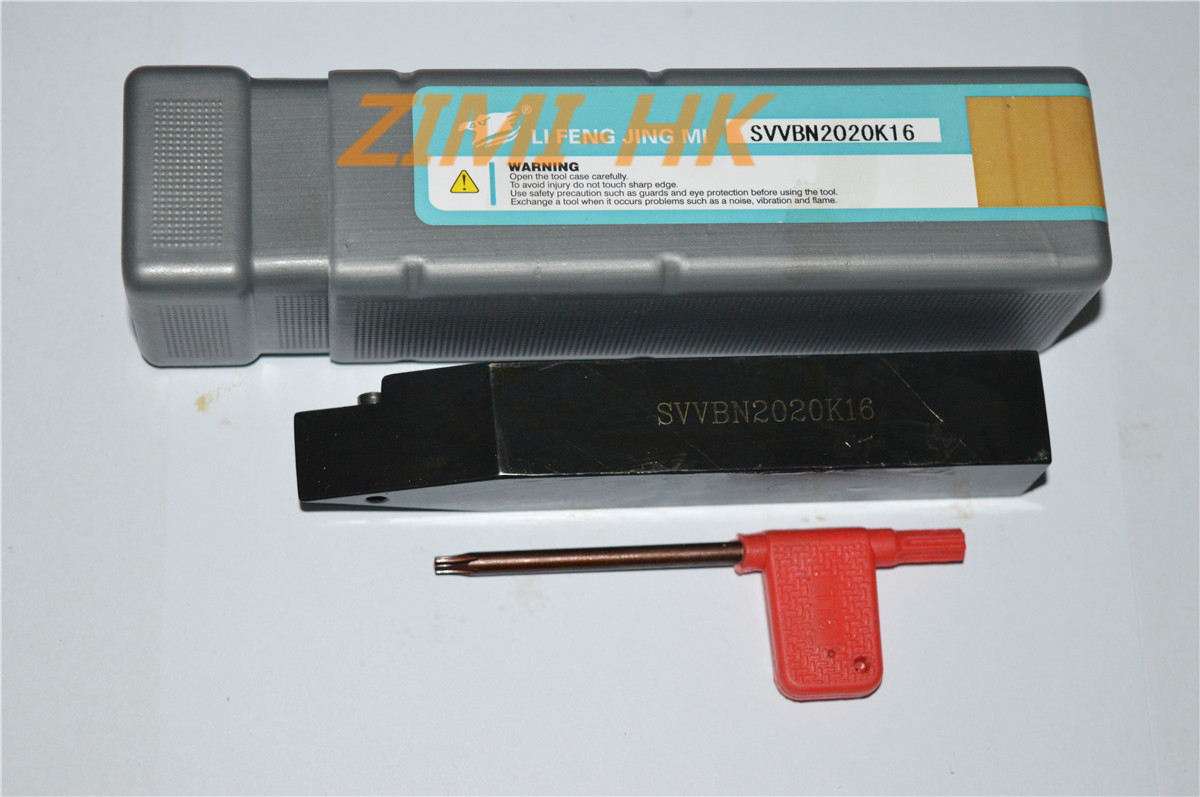 SVVBN2020K16 Out circle Indexable turning screw type tool holder 72.5 Degree