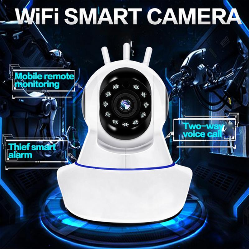 IMI 1080P HD Smart Babyfone Baby Monitor WiFi IP Überwachungskamera Alarm