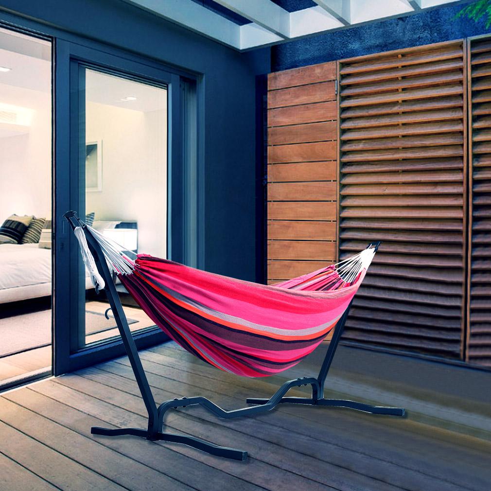 h ngematte mit gestell h ngemattengestell sonnenliege. Black Bedroom Furniture Sets. Home Design Ideas