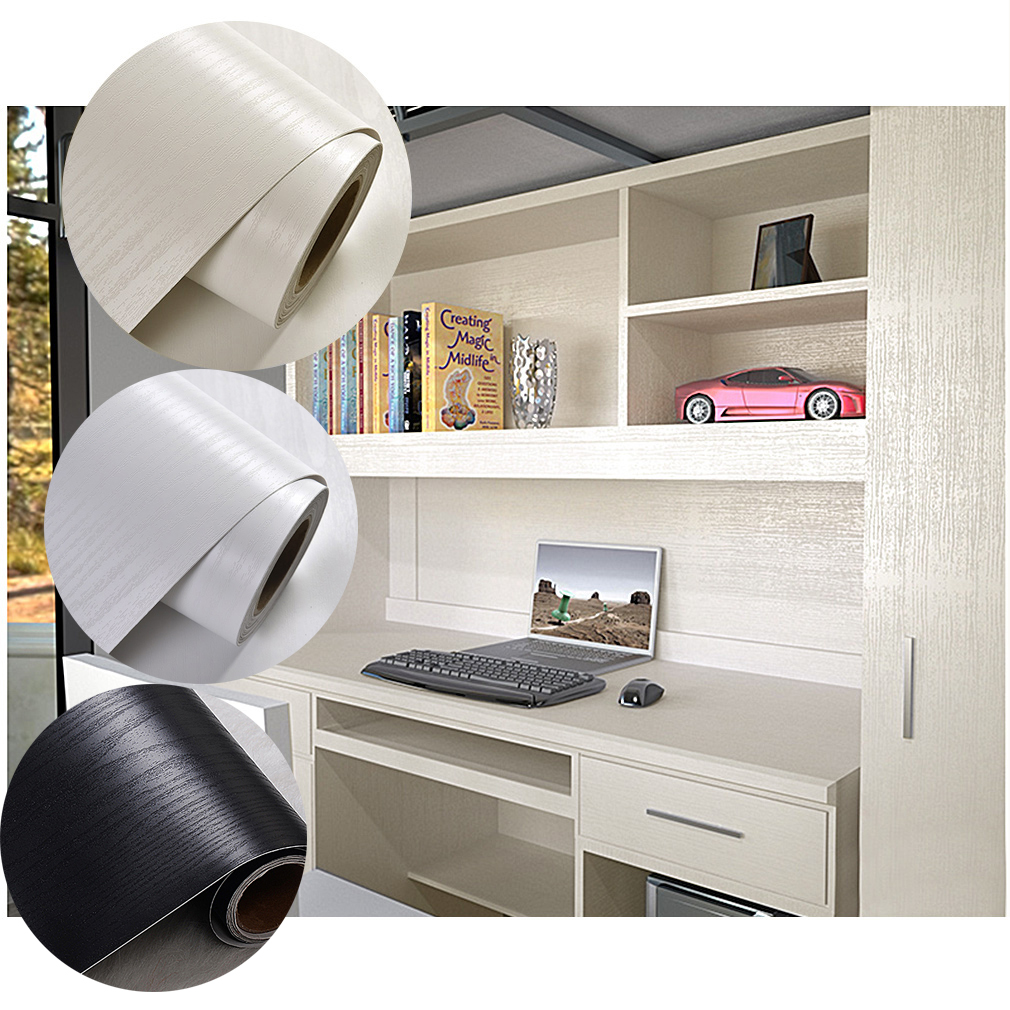 selbstklebende folie tapete klebefolie k che m bel t r m belfolie de ebay. Black Bedroom Furniture Sets. Home Design Ideas