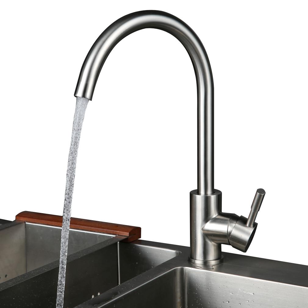 304 Edelstahl Spültischarmatur Küche Armatur Wasserhahn ...