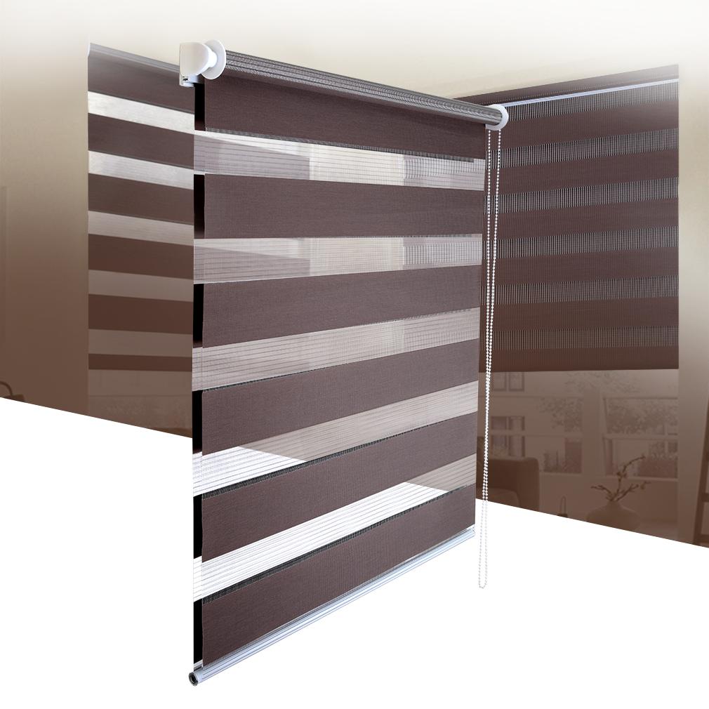 klemmfix duo rollo ohne bohren doppelrollo plissee variorollo klemmrollo fenster ebay. Black Bedroom Furniture Sets. Home Design Ideas