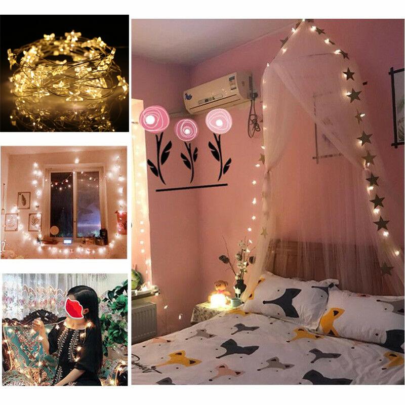 20 30 50 Led String Lights Star Fairy