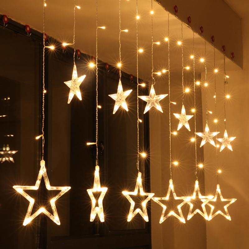 Led Warm White Ling Star Christmas