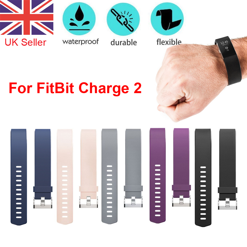 Fitbit One Replacement Comfy Wristband Bracelet Strap Band Classic With Buckle
