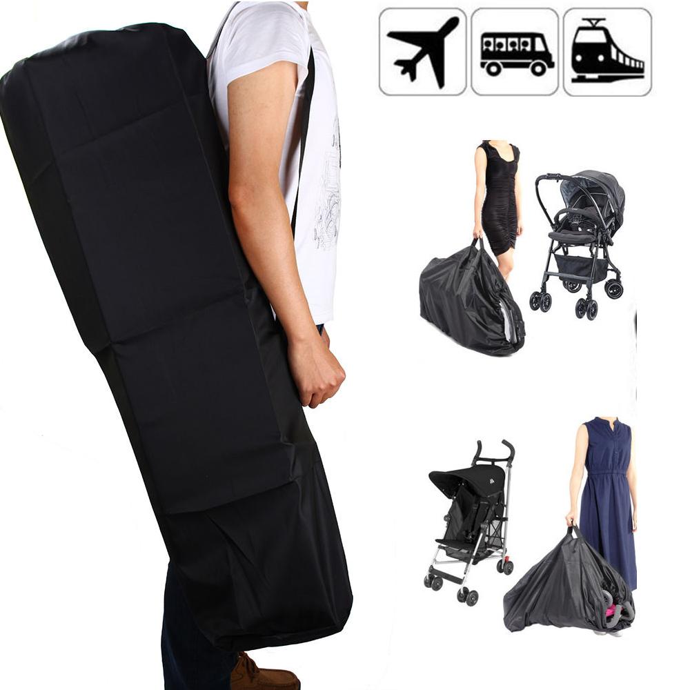 Waterproof Gate Check Pram Travel Bag Umbrella Stroller Pushchair Buggy Cover UK