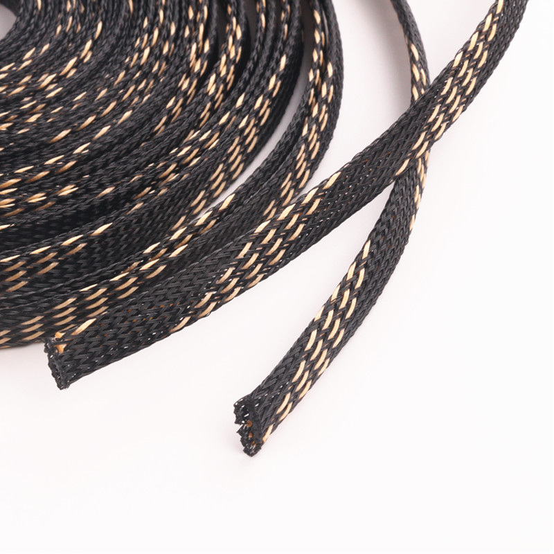 10M-High Density Harness Nylon Expandable PET Braided Cable Wire ...