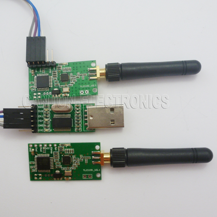 Details about 433M Arduino Wireless Serial Data Communication Kit RF Module  UART RS232 AVR PIC