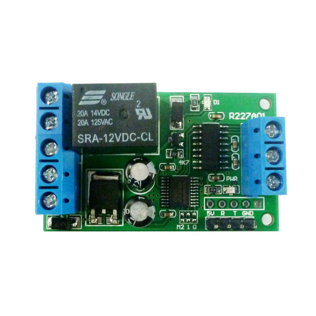 2 IN 1 RS232 & TTL232 Serial Port Relay PC USB MCU PLC UART