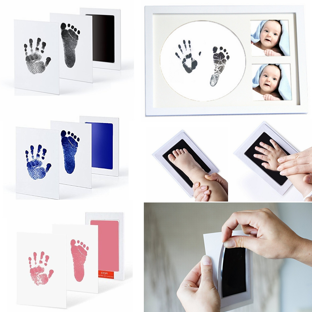 INKLESS WIPE HAND /& FOOT PRINT KIT BABY /& NEWBORN SAFE GREAT CHRISTMAS GIFT!