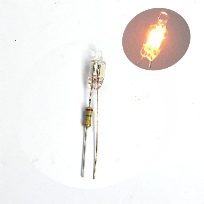 Indicators & Signal Towers 20pcs 4x10mm F4 Head Red Orange Light ...