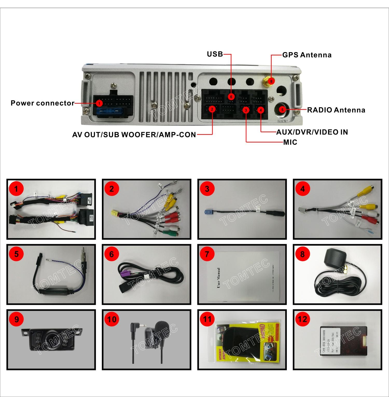 7 Car Bluetooth Stereo Sat Nav Cd Player Radio Gps For Bmw E46 M3 Rover 75 Wiring Diagram Dab