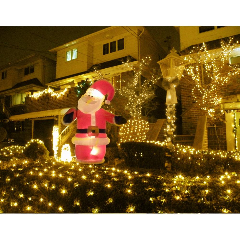 20M 200 LEDs Solar Lichterkette 8 Einstellungen Weihnachts ...