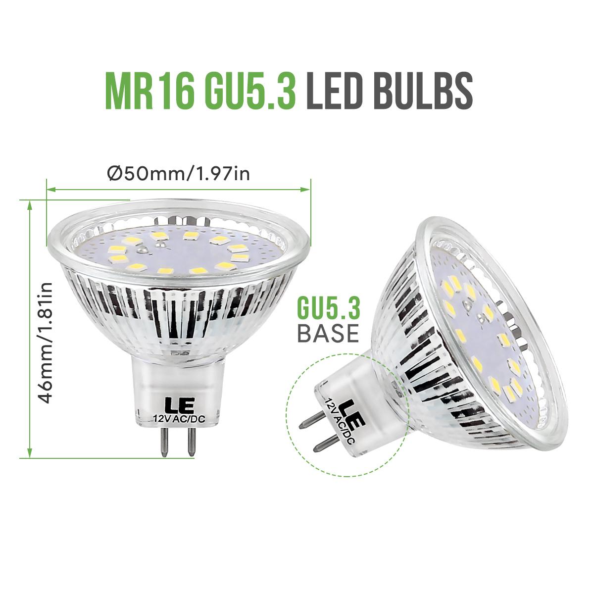 le 5er 12v 280lm led birnen 3 5w mr16 gu5 3 led lampe leuchte kaltwei ebay. Black Bedroom Furniture Sets. Home Design Ideas