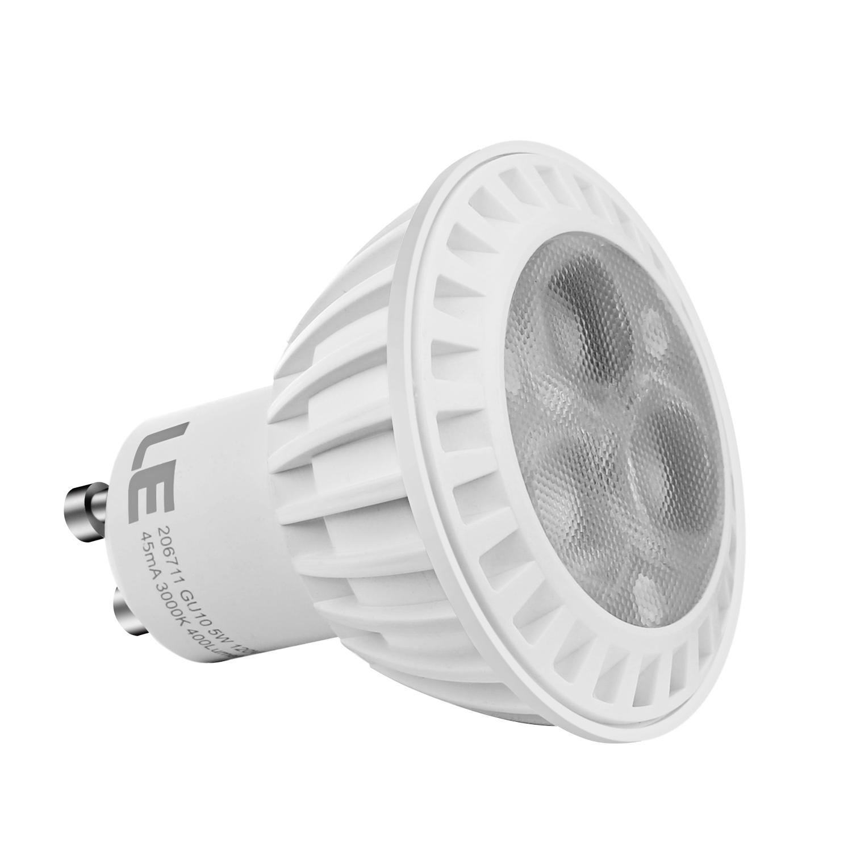 6pack 5w mr16 gu10 led recessed track light bulb 400lm 38 spot beam 6pcs 5w mr16 gu10 led recessed track light bulb 400lm energy saving warm white aloadofball Gallery