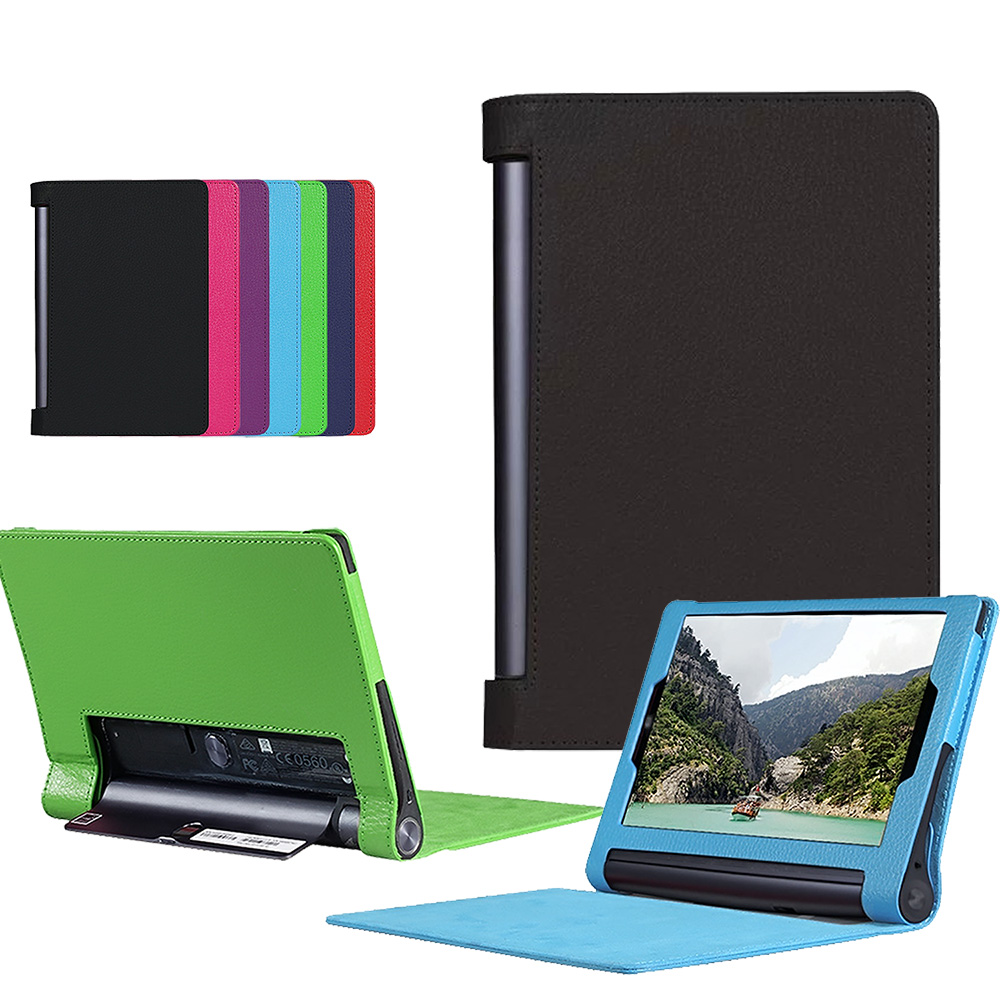 sale retailer b3143 af1a2 Details about Leather Stand Case Flip Cover For Lenovo Yoga Tab 3 Plus 10.1  X90F X90L Tablet