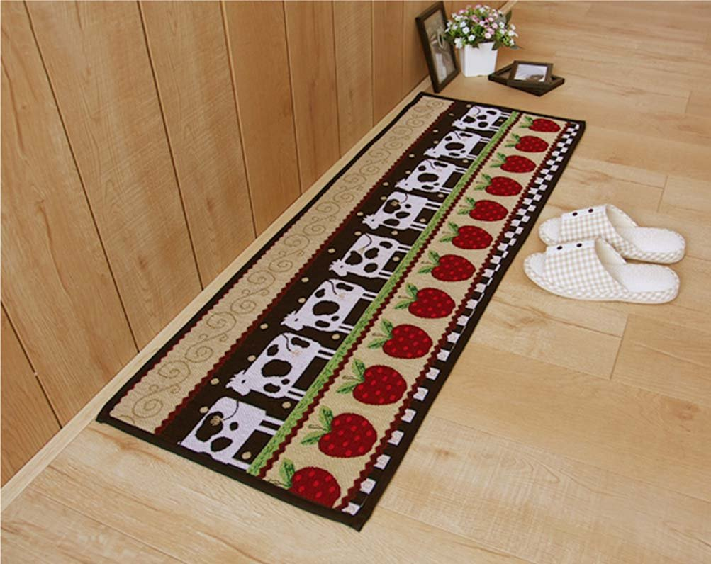 Details about AU Non Slip Rug Kitchen Bedroom Floor Mats Hallway Carpet  Door Runner Washable