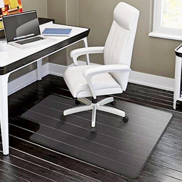 Pvc Matte Desk Office Chair Floor Mat Protector For Hard Wood Floors