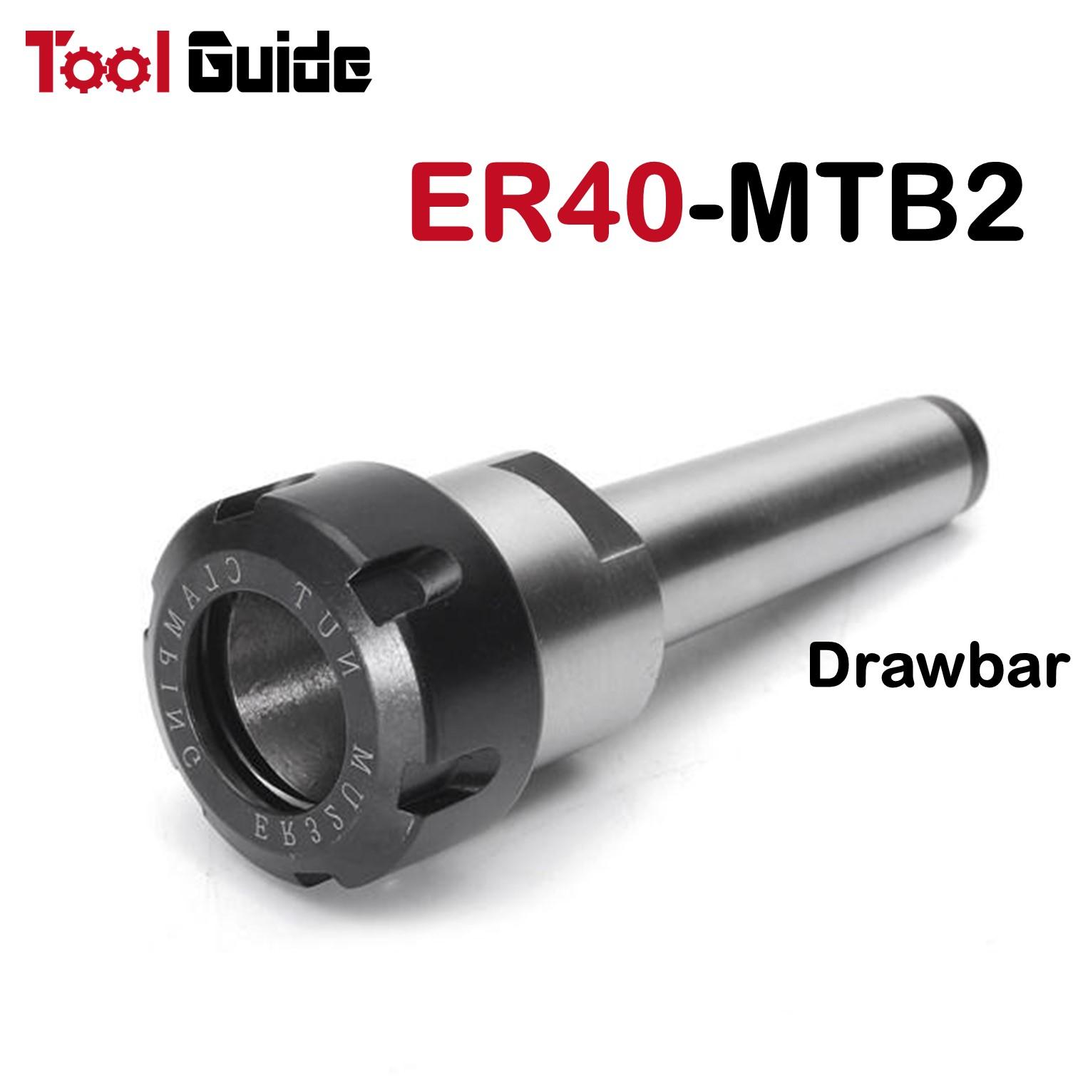 MTB2 ER25 MT2 Morse Taper Shankk Collet Chuck CNC Milling Tool Holder M10 Thread Collet Chuck