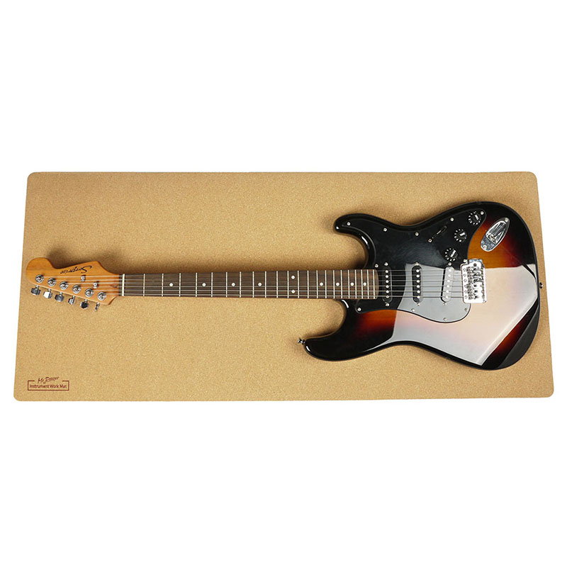 Guitar Work Station Mat String Instrument Cleaning Care
