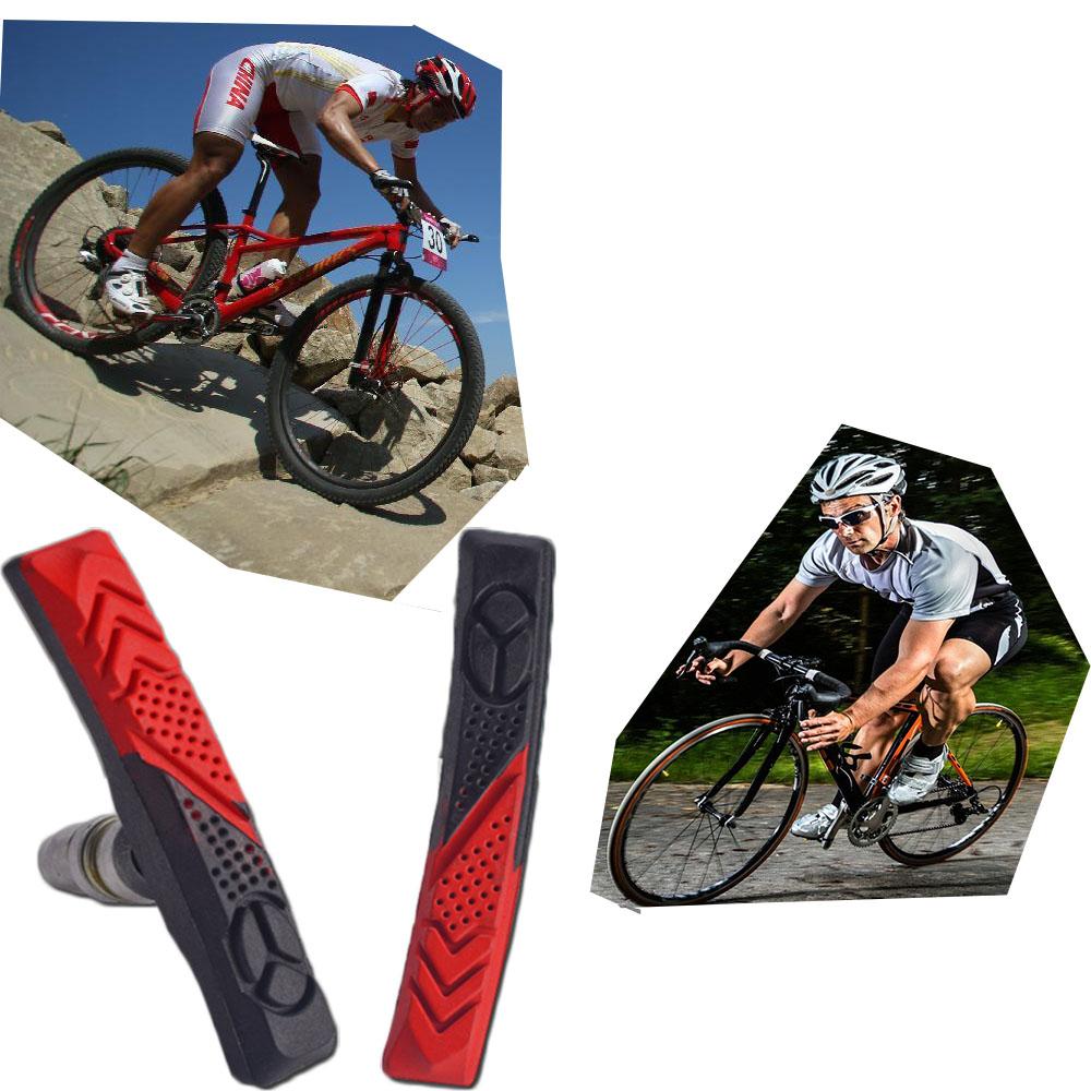 1 PAIR V BRAKE BLOCKS CYCLE BIKE BICYCLE MOUNTAIN BIKE BRAKE BLOCKS PADS NEW