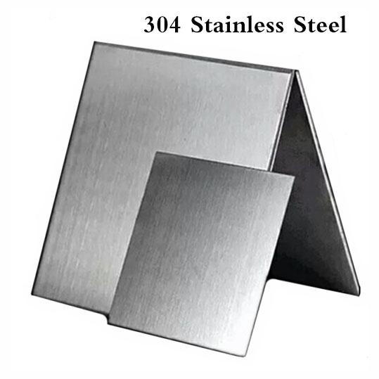 5 Edelstahl Silber Glatt Flach Magnetverschluss DIY für 10.7mmx6.9mm Lederband