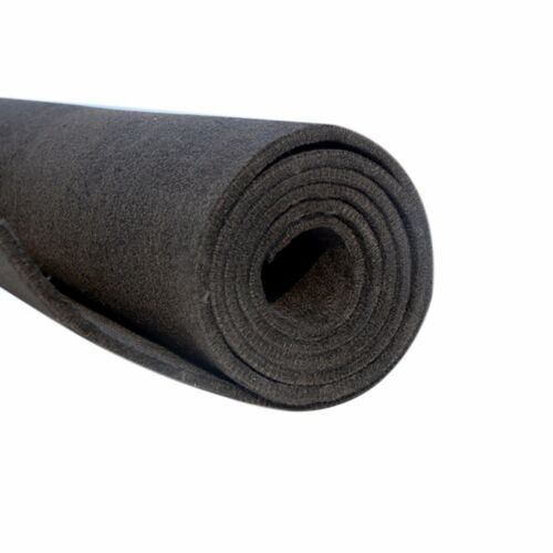 "8/""x12/'/' 5mm Graphite Carbon Felt Soft Sheet Furnace Insulation Panel Elec G/_K"